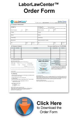 employment poster order form